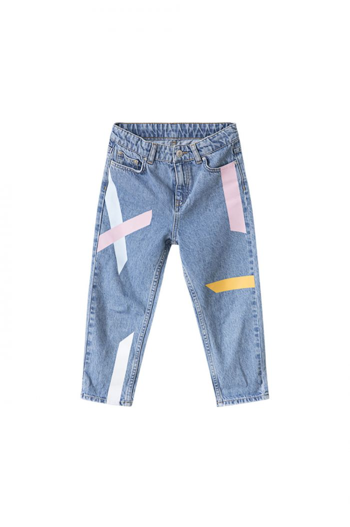 I Dig Denim Max taped jeans blue_1