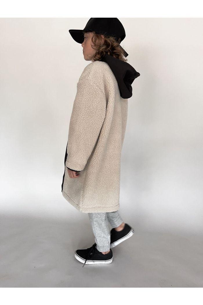 I Dig Denim Palle pile coat Cold beige_3