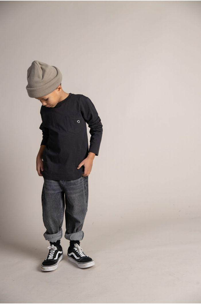 I Dig Denim Benny tapered jeans organic black_3