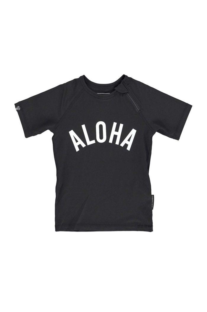Beach & Bandits Aloha Tee Black