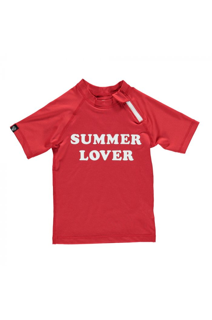 Beach & Bandits Summer Lover Top Red_1