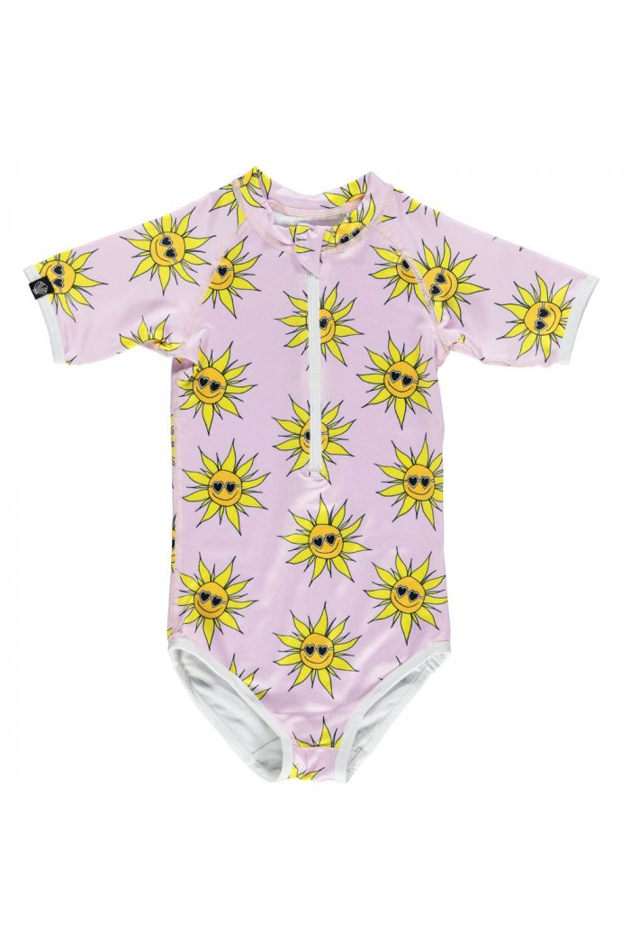 Beach & Bandits Sunny Flower Suit Lila