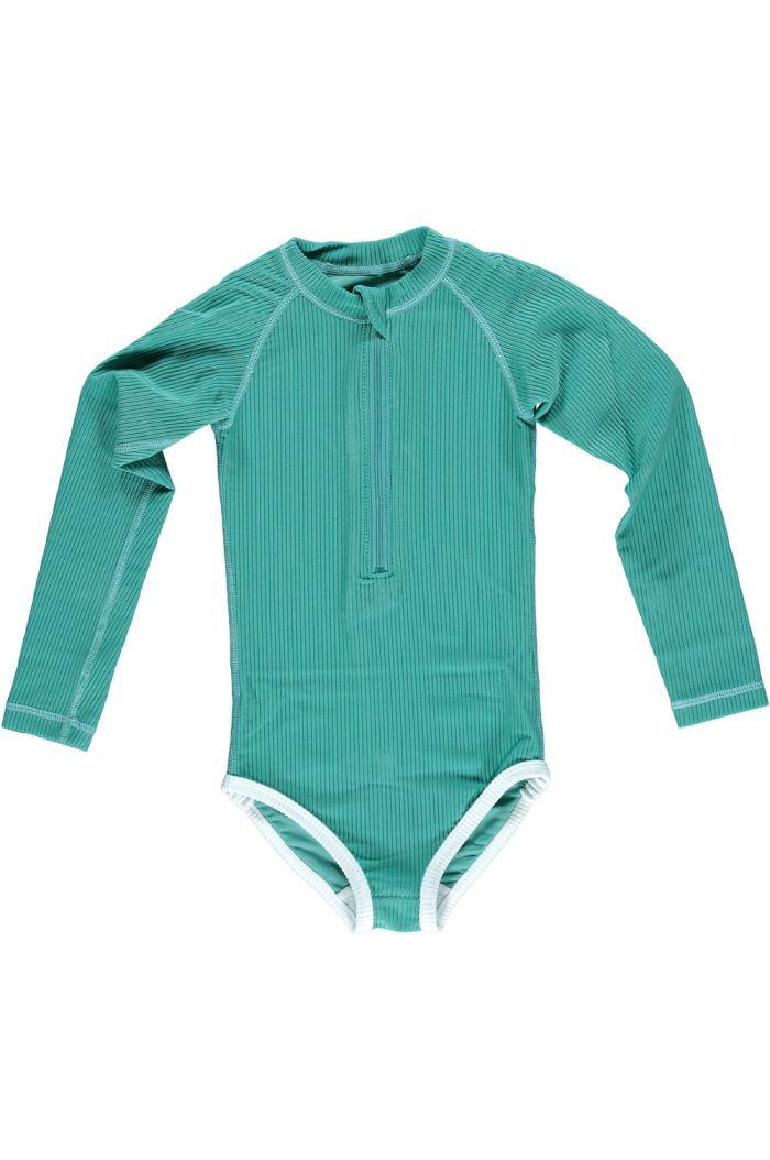 Beach & Bandits Lagune Ribbed suit Lagune green