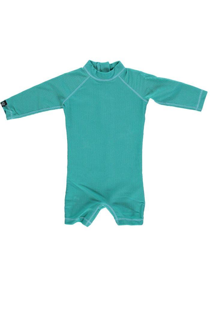 Beach & Bandits Lagune Ribbed Baby suit Lagune green