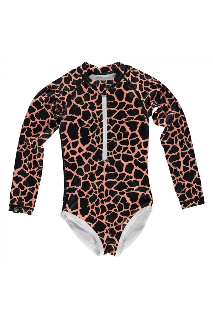 Beach & Bandits Spotted Moray Suit Black_1