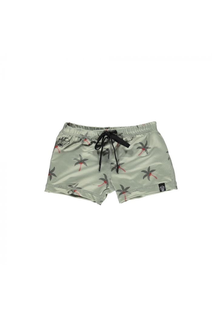 Beach & Bandits Aloha Palm Swimshort x Eef Lillemor Palm Green_1