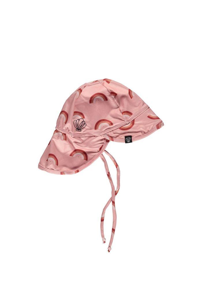 Beach & Bandits Pink Rainbow  (UPF50+) Hat  x Eef Lillemor Retro Pink_1