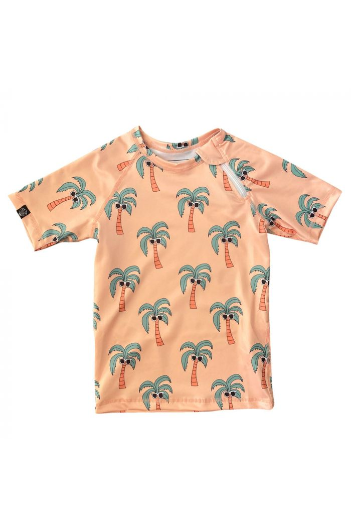 Beach & Bandits Palm Breeze Tee Sunny Cream_1