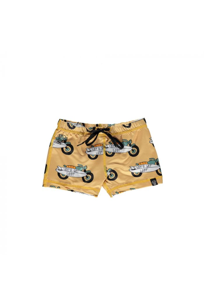Beach & Bandits Let's Get Lost Swimshort Oker_1