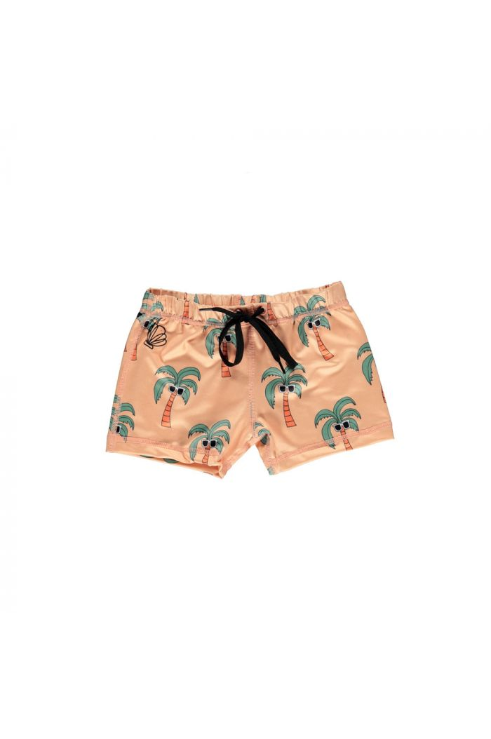 Beach & Bandits Palm Breeze Swimshort Sunny Cream_1