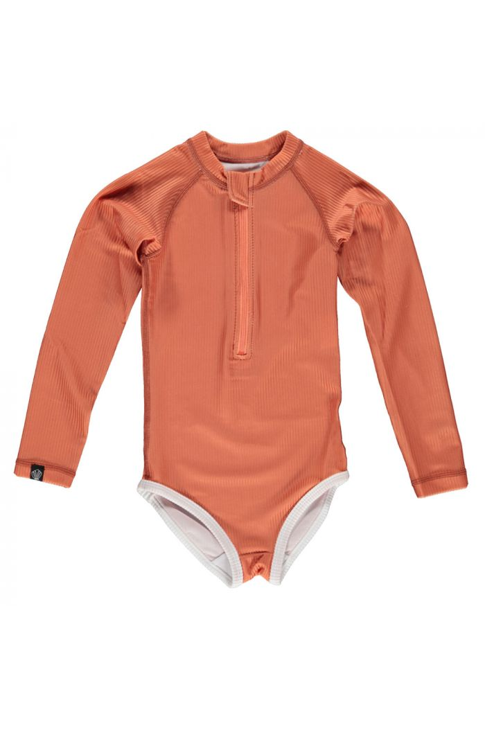 Beach & Bandits Clay Ribbed suit Clay_1