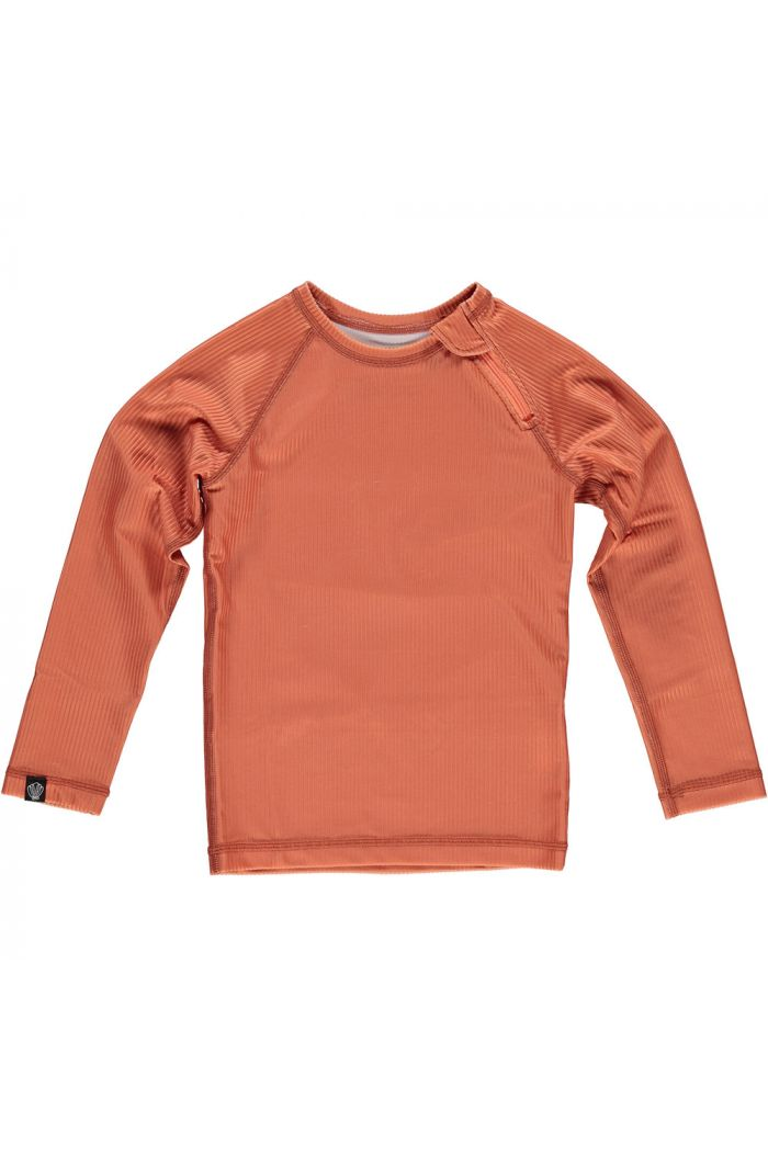 Beach & Bandits Clay Ribbed Longsleeve Tee Clay_1