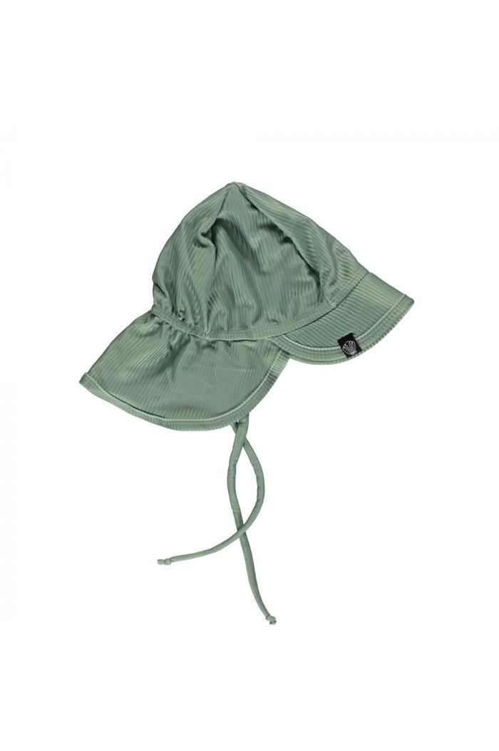 Beach & Bandits Basil Ribbed  (UPF50+) Hat  Basil_1