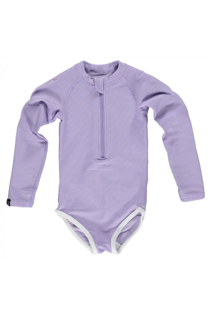 Beach & Bandits Lavender Ribbed suit Lavender_1