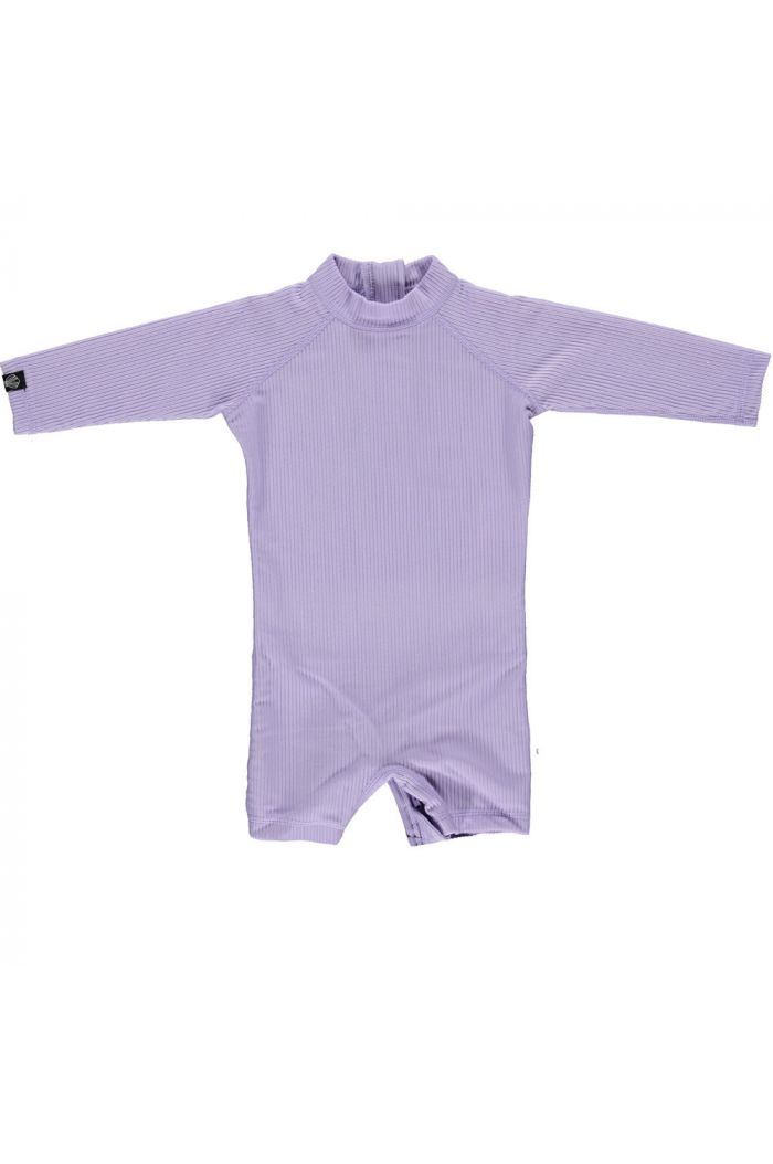 Beach & Bandits Lavender Ribbed Baby suit Lavender_1