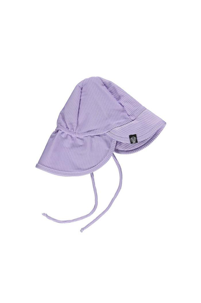 Beach & Bandits Lavender Ribbed  (UPF50+) Hat  Lavender_1