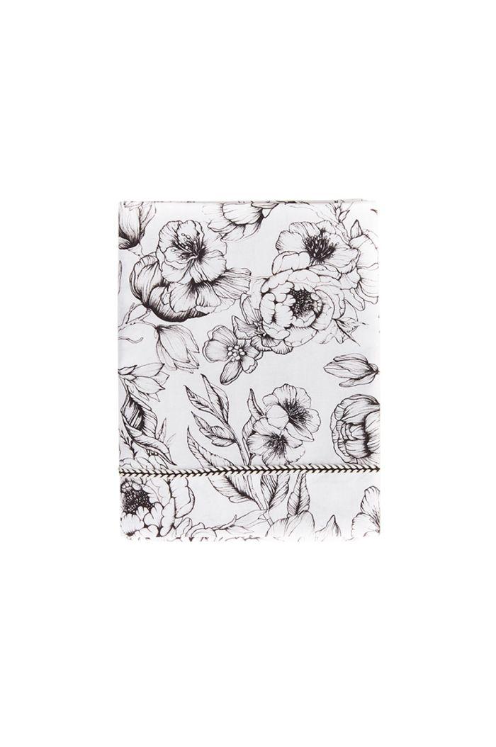 Mies & Co Baby Crib Sheet Bumble Love Offwhite_1