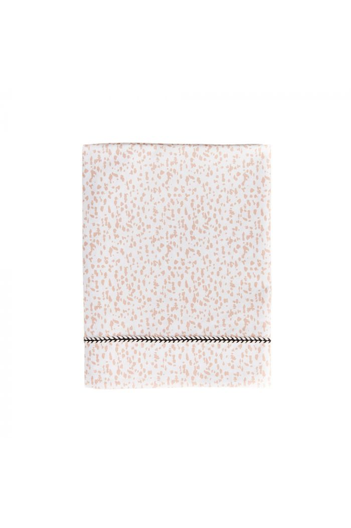 Mies & Co Toddler Bed Sheet Wild Child Chalk Pink