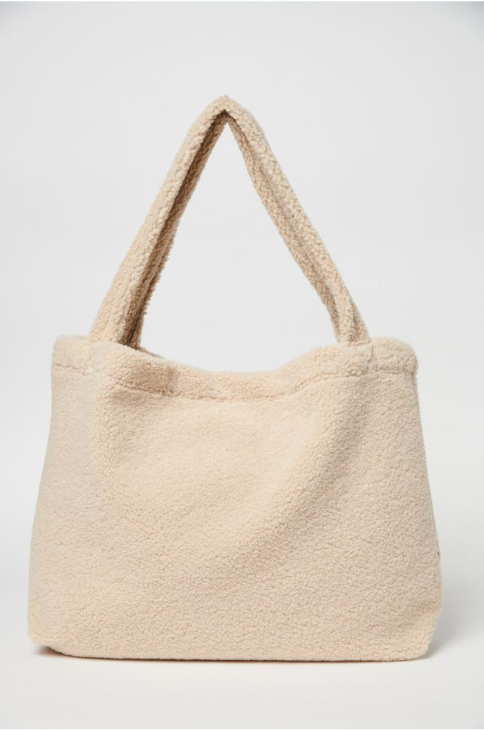 Studio Noos Sand Chunky Teddy Mom Bag_1