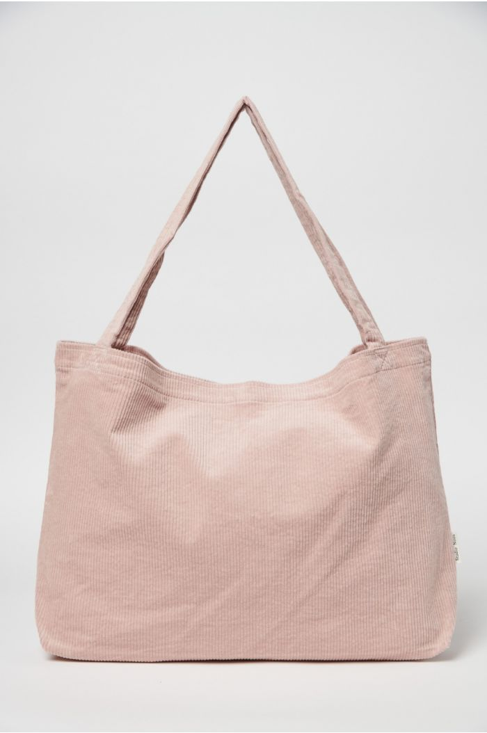 Studio Noos Dusty Pink Rib Mom Bag_1
