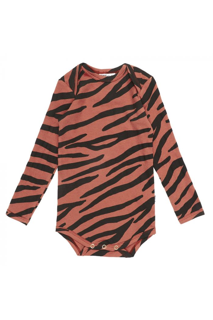 Maed for Mini Romper Blushing Zebra