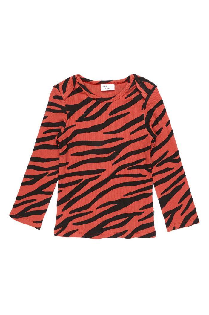 Maed for Mini Longsleeve Snappy Zebra