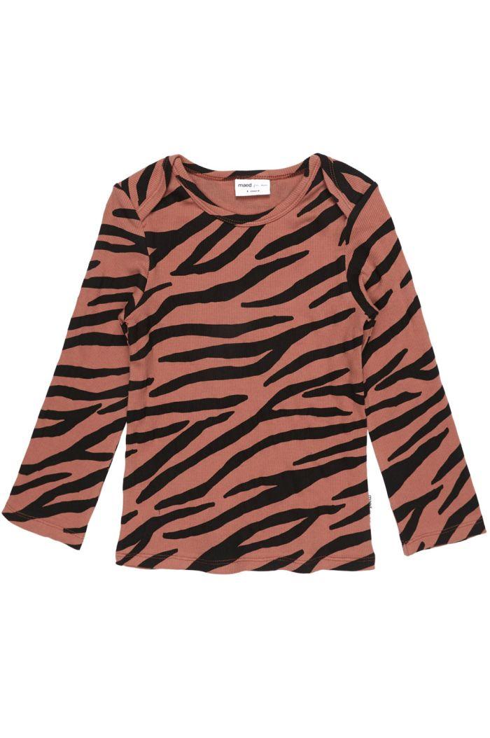 Maed for Mini Longsleeve Blushing Zebra
