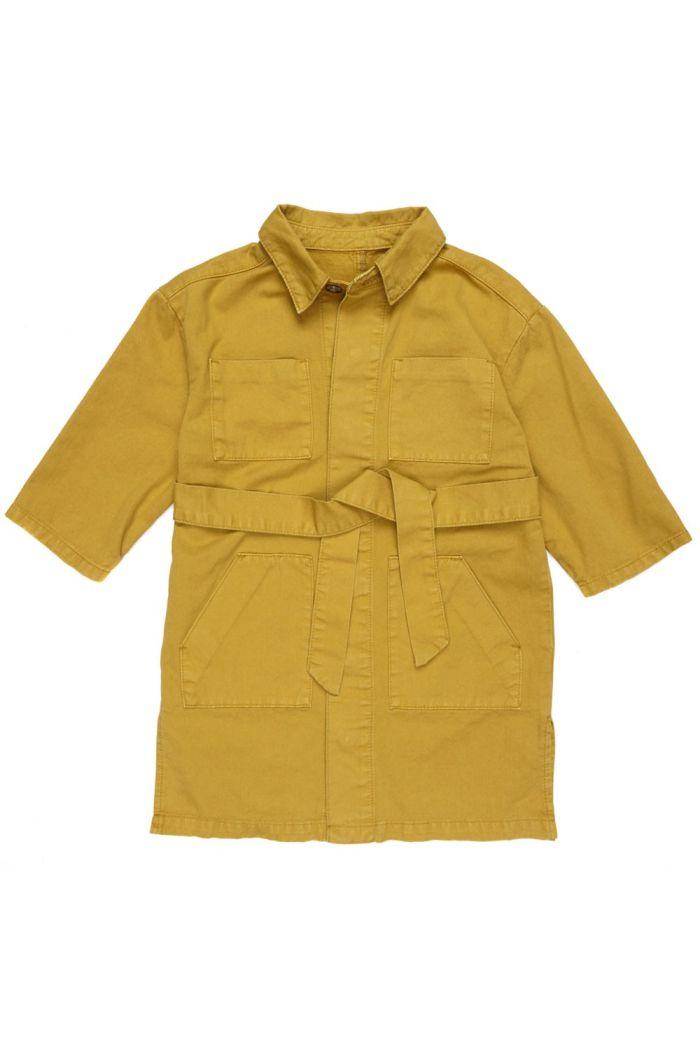 Maed for Mini Long Coat Golden Grasshopper