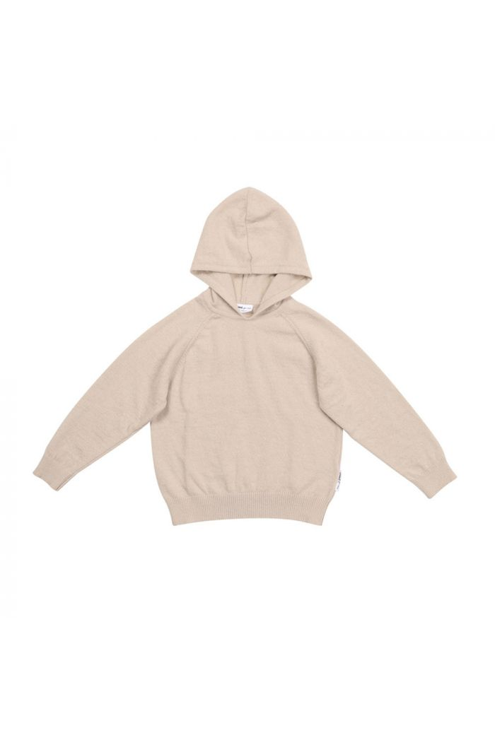 Maed for Mini Knit Hoodie Luxurious Lynx_1