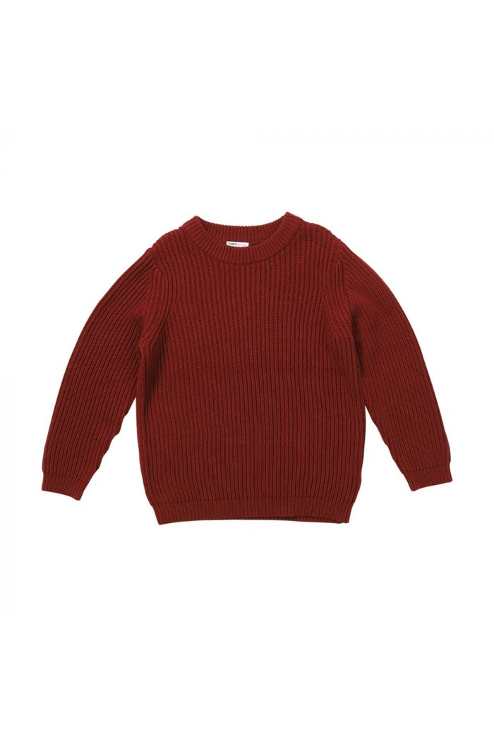 Maed for Mini Knit Sweater Rocky Rhino_1