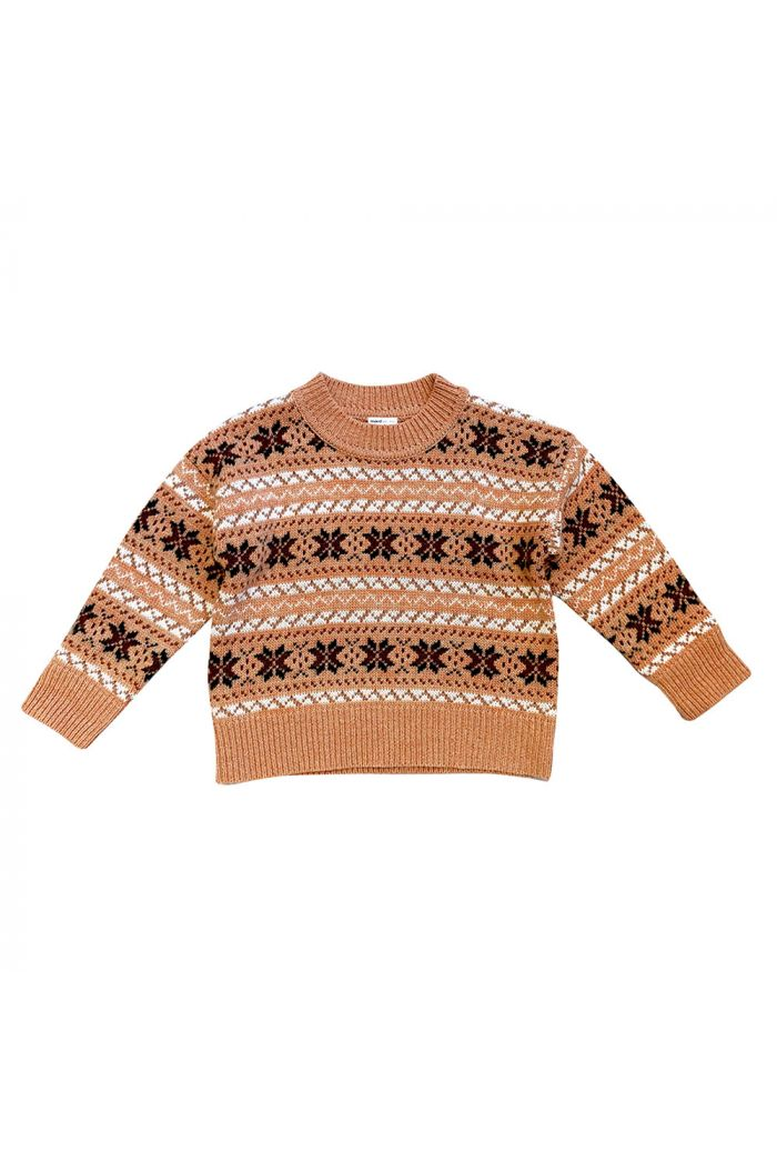 Maed for Mini Knit Sweater Dirty Dingo All-over print_1