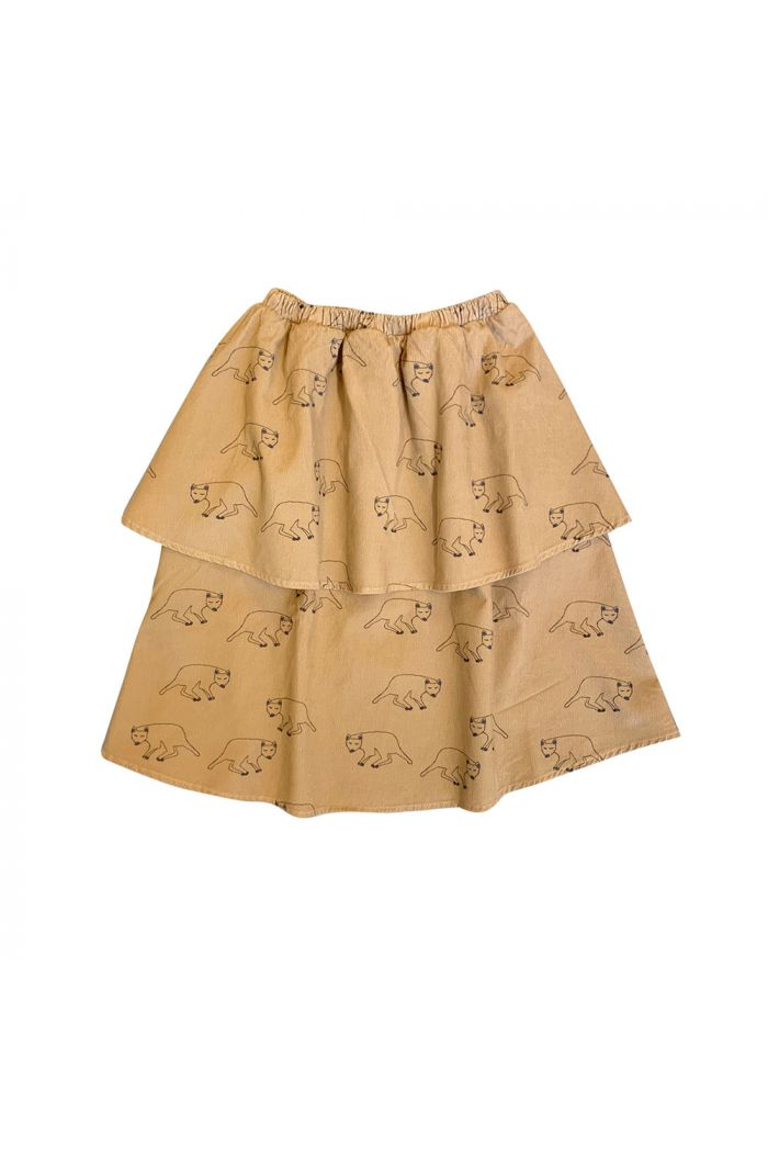Maed for Mini Long Skirt Fabulous Fossa All-over print_1