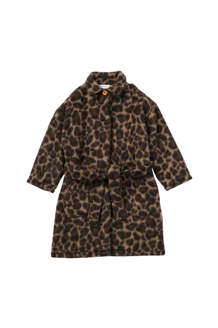 Maed for Mini Long Coat Leading Leopard All-over print_1