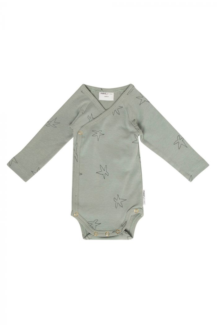 Maed for Mini Romper Sleepy seastar All-over print_1
