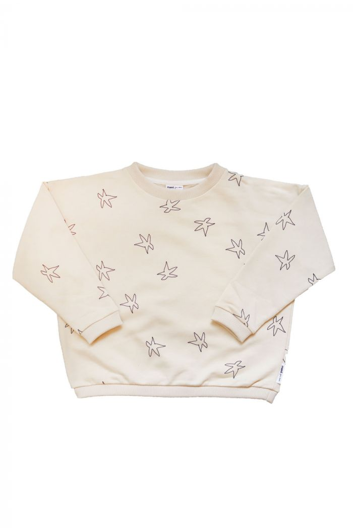Maed for Mini Sweater Sandy starfish All-over print_1