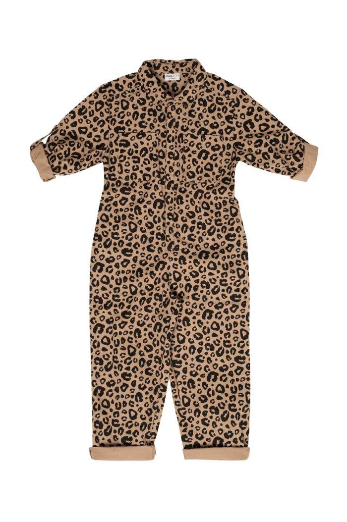 Maed for Mini Jumpsuit Caramel leopard_1