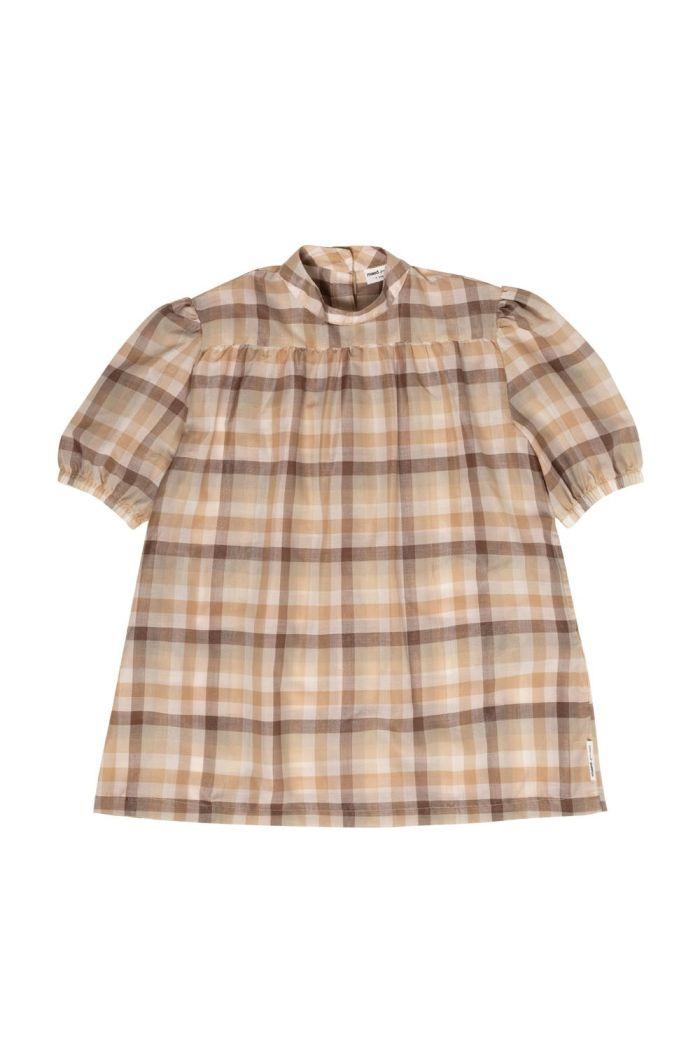 Maed for Mini Dress Tartan tamarin_1