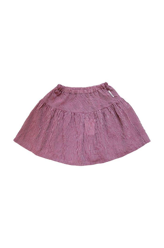 Maed for Mini Skirt Stripy spoonbill_1