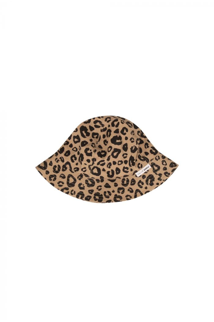 Maed for Mini Hat Caramel leopard_1