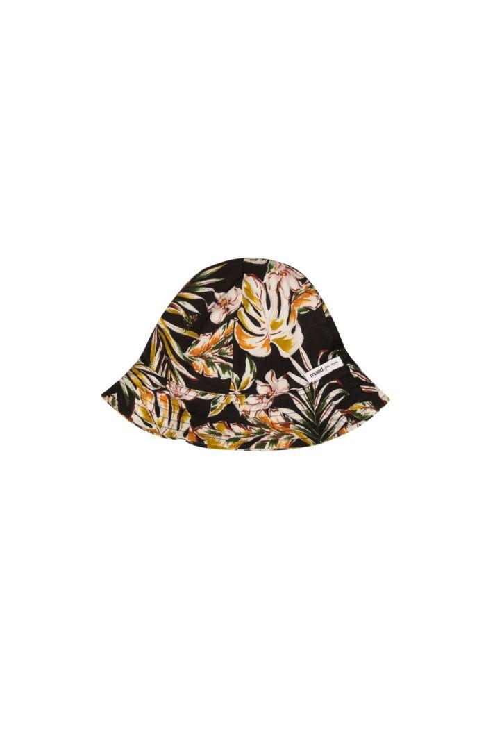 Maed for Mini Hat Flower flamingo_1