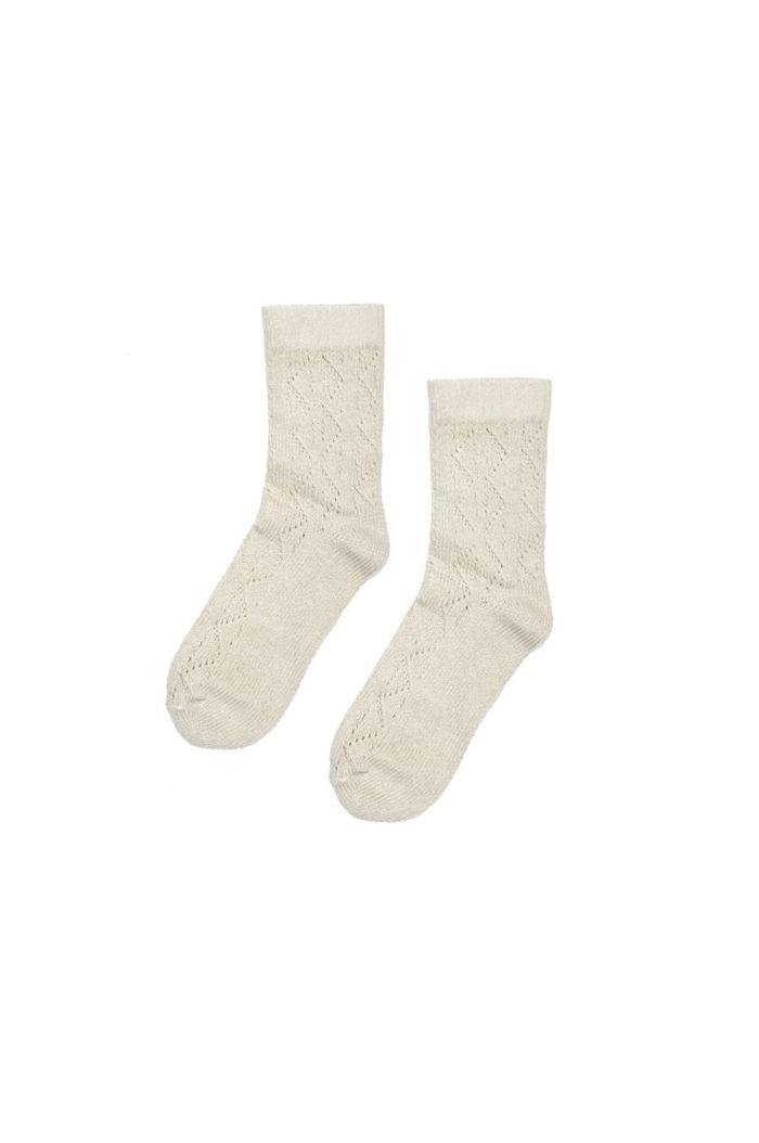 Maed for Mini Basic socks Chique Chinchilla_1