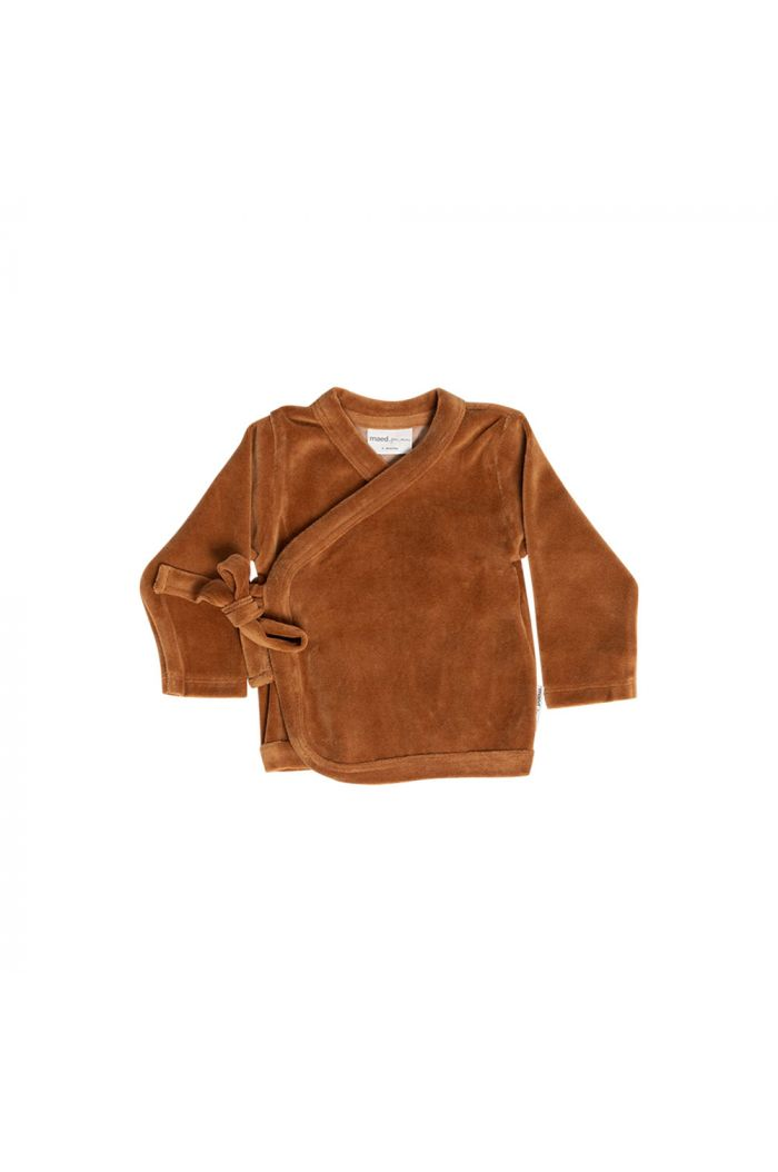 Maed for Mini Wrap top Velvet Vicuna_1
