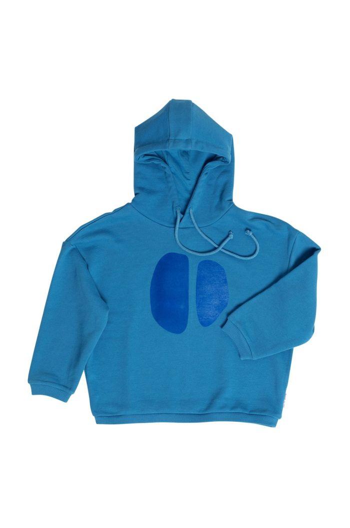 Maed for Mini Sweatshirt Teal Tapir_1