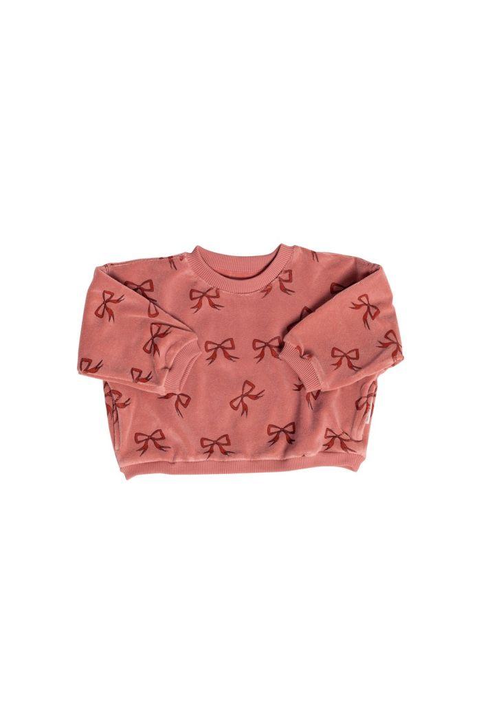Maed for Mini Sweatshirt Bow Bandicoot_1
