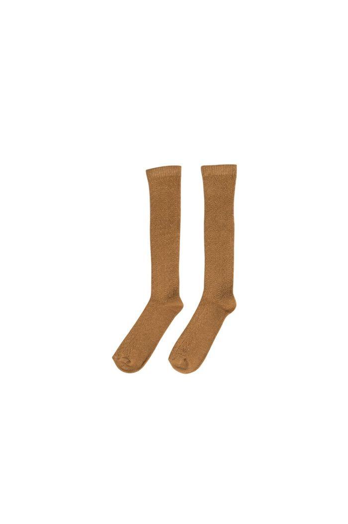 Maed for Mini Kneesocks Cuddly Camel_1