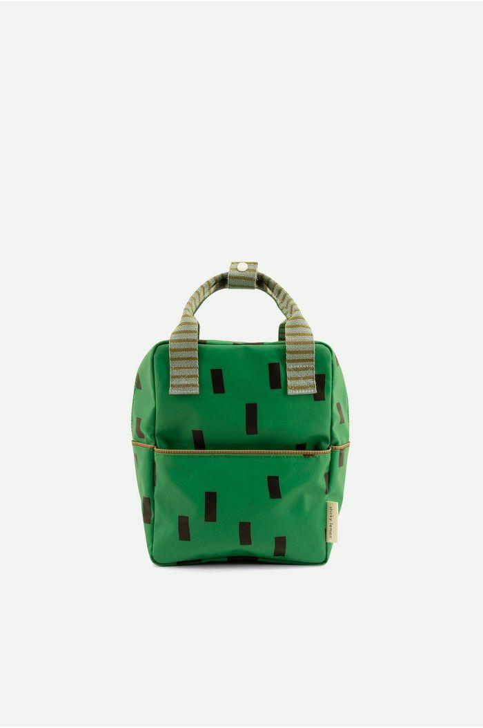 Sticky Lemon Backpack Small Sprinkles Special Apple Green + Steel Blue + Brassy Green_1