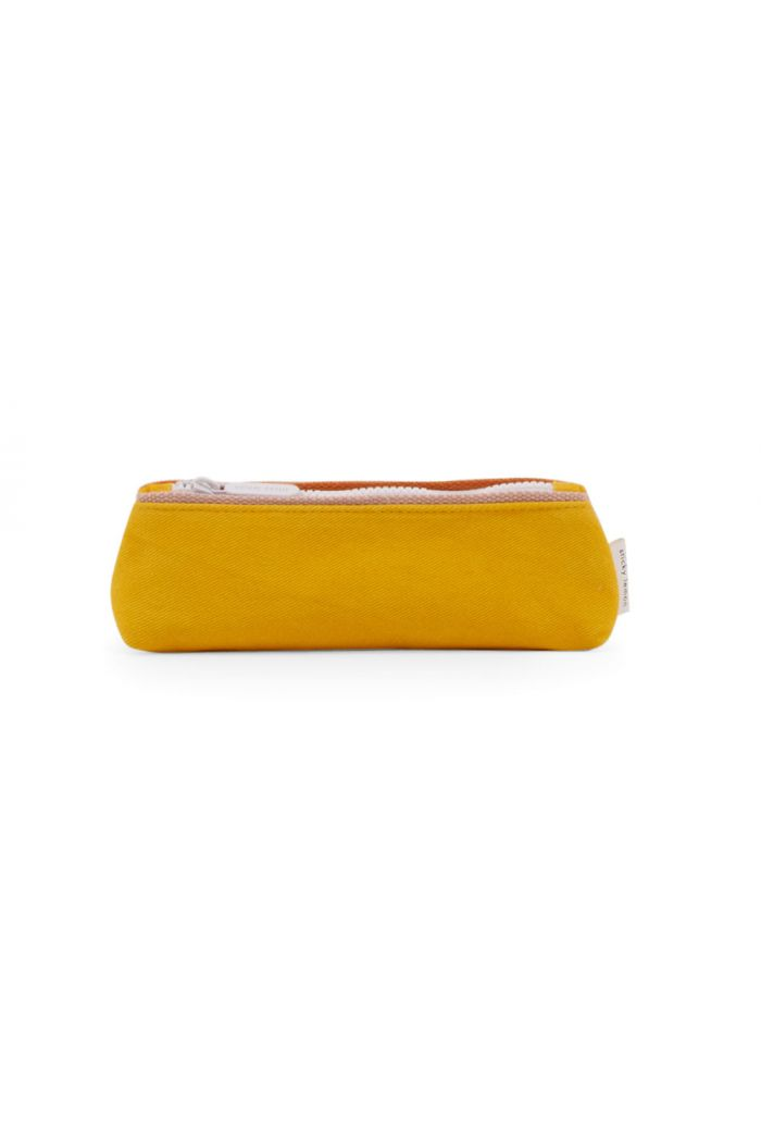 Sticky Lemon Pencil Case Freckles sunny yellow + carrot orange + candy pink_1