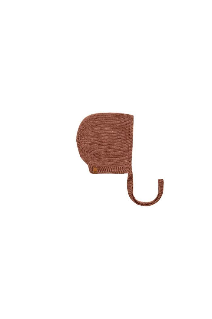 Quincy Mae Knit Bonnet Clay_1