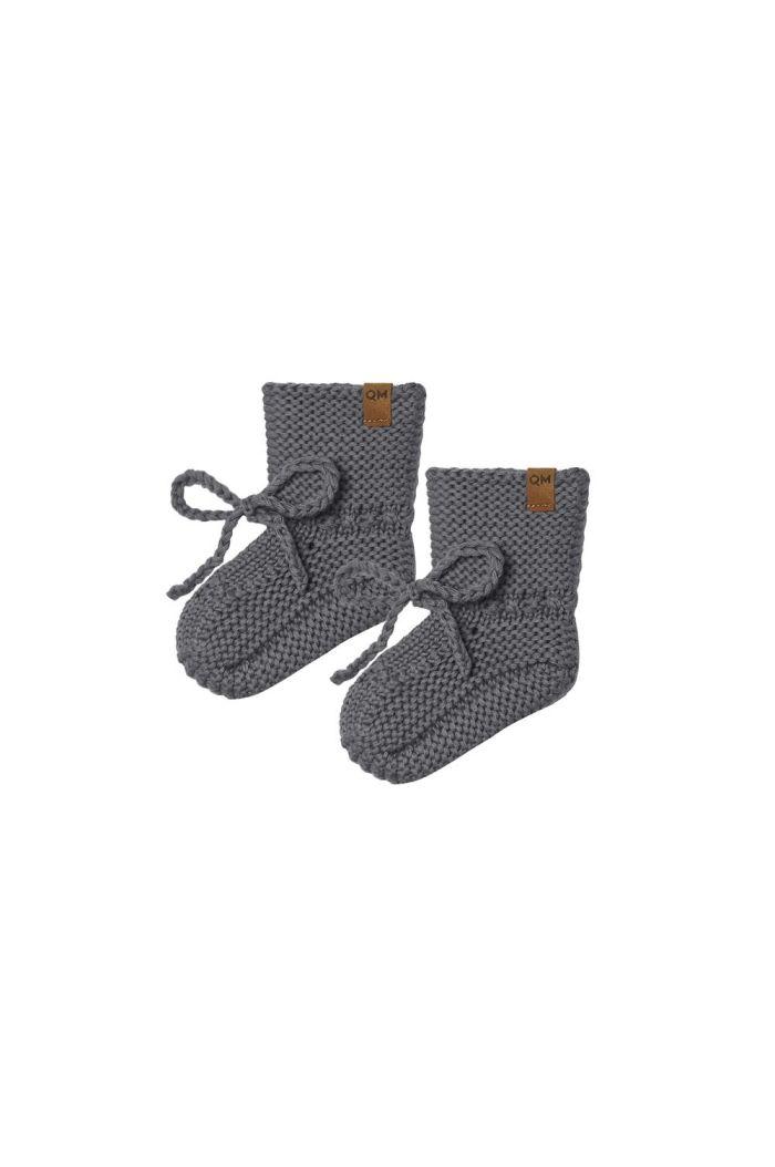 Quincy Mae Knit Booties Dark Sea_1