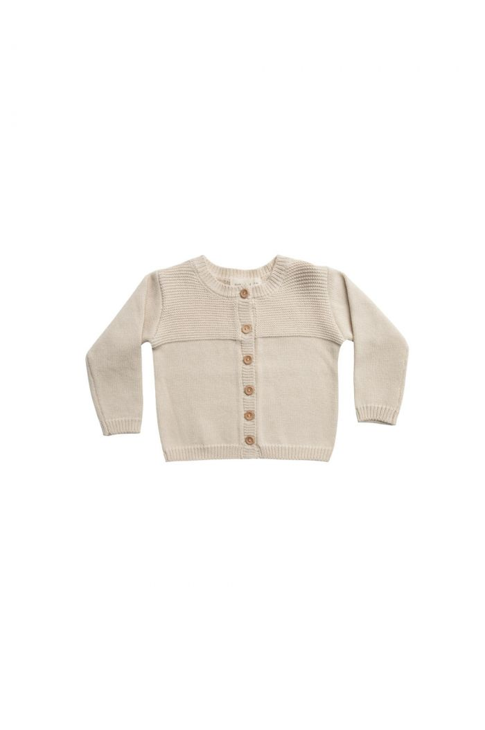 Quincy Mae Knit Cardigan Natural_1